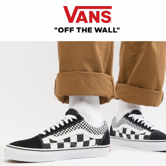 10b0388f3f Vans Old Skool Mix Checker Sneakers 11.5